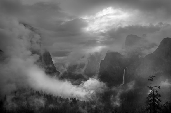 Morning Mist, Yosemite Valley, Yosemite National Park, California 2013
